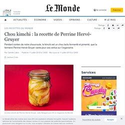 Chou kimchi: la recette de Perrine Hervé-Gruyer