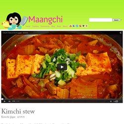 Kimchi stew (Kimchi-jjigae) recipe