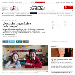 Was Kinder deutsch finden (FAZ)