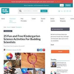 Best Kindergarten Science Activities