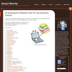 62 Kindergarten Websites That Tie into Classroom Lessons