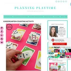 Kindergarten Counting Activity - Planning Playtime