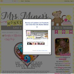 Mrs. Miner's Kindergarten Monkey Business: Simple & Effective Classroom Managing With Class Dojo
