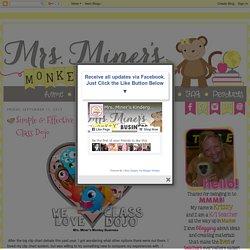 Mrs. Miner's Kindergarten Monkey Business: Simple & Effective Classroom Managing With Class Dojo