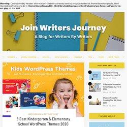 8 Best Kindergarten & Elementary School WordPress Themes 2020