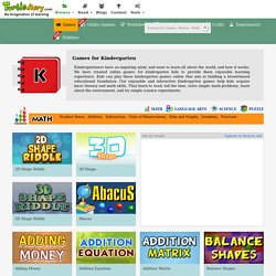 Free Online Kindergarten Games & Lesson Plans for Kids