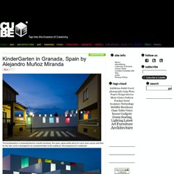 KinderGarten in Granada, Spain by Alejandro Muñoz Miranda