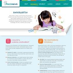 Mandarin Kindergarten Singapore For Kids: Masterminds