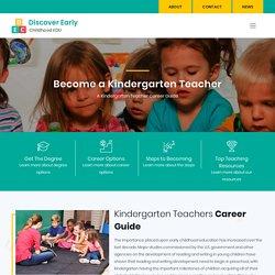Kindergarten Teacher - Requirements, Careers, Salary and Job Duties