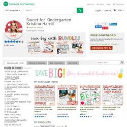 Sweet for Kindergarten- Kristina Harrill Teaching Resources