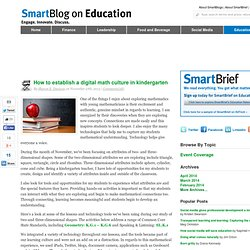 How to establish a digital math culture in kindergarten SmartBlogs