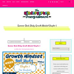 Summer Book Study: Growth Mindset Chapter 1