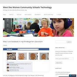 How I use Facebook in my Kindergarten classroom