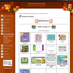 Kindergarten Websites