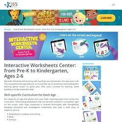 Virtual Learning Games - Preschool & Kindergarten Worksheets