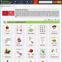 Kindergarten worksheets - Printable Worksheets for Kindergarten Kids