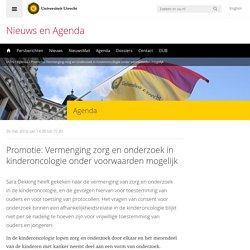 Promotie: Vermenging zorg en onderzoek in kinderoncologie onder voorwaarden mogelijk