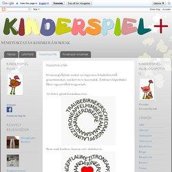 Kinderspiel Plus: Feladatkészítők