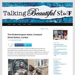 The Kindertransport statue, Liverpool Street Station, London