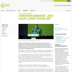 """Digitale Kinderuniversität: Christoph Biemann: """"Wer lacht, lernt schneller"""""""