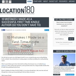 10 Kindle Mistakes To Avoid as a New Author
