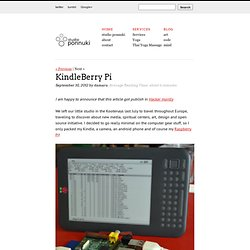 KindleBerry Pi!