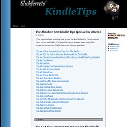 KindleTips | Learn More Kindle!