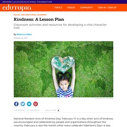Kindness: A Lesson Plan