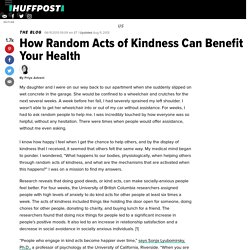 How Random Acts of Kindness Can Benefit Your Health
