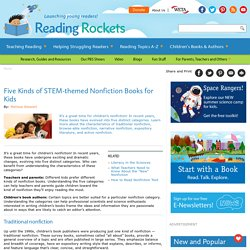 Five Kinds of STEM-themed Nonfiction Books for Kids
