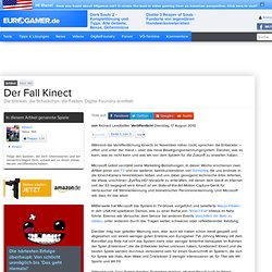 Der Fall Kinect - Page 1