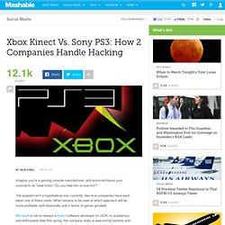 Xbox Kinect Vs. PS3: How 2 Companies Handle Hacking