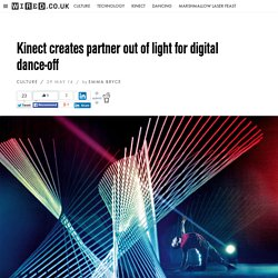 Kinect creates partner out of light for digital dance-off