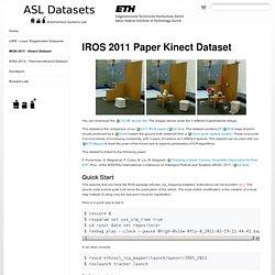 ETH - kinect:iros2011kinect – ASL Datasets