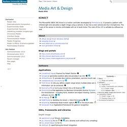 Kinect - Medien Wiki