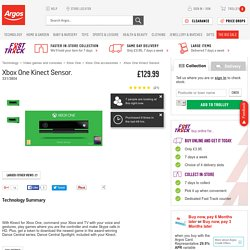 Buy Xbox One Kinect Sensor at Argos.co.uk - Your Online Shop for Xbox One accessories.