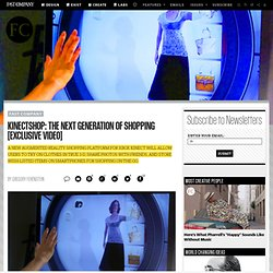 KinectShop: The Next Generation Of Shopping [Exclusive Video]