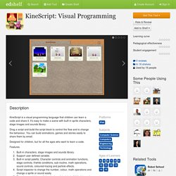 KineScript: Visual Programming Reviews
