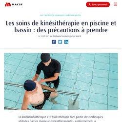 Soins de kinésithérapie en piscine : des précautions à prendre