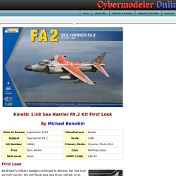 Kinetic 48041 1/48 Sea Harrier FA.2 Kit First Look