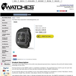 KINETIC Android Smart Watch Phone Best Smart Watch On The Planet