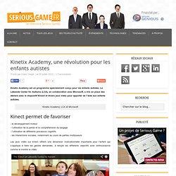 Kinetix Academy, une révolution pour les enfants autistes