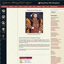 I need to write an essay on Henry VIII. Help?