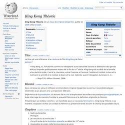King Kong Théorie — Wikipédia
