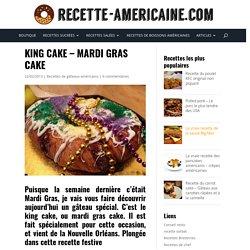 King Cake - Mardi Gras Cake