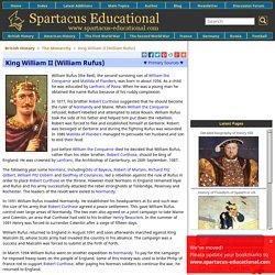 King William II (William Rufus)