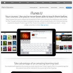 United Kingdom) - iTunes U – Learn anything, anywhere, anytime.