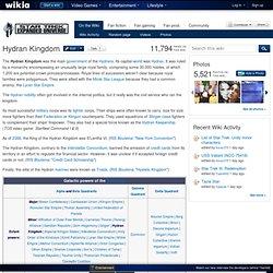 Hydran Kingdom - Star Trek Expanded Universe - Fan fiction, RPG, fan films