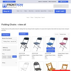 Folding Chairs For Sale - Front Row Furniture