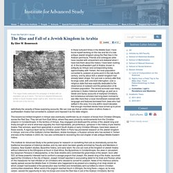 The Rise and Fall of a Jewish Kingdom in Arabia